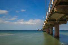 Seebrcke (@JoHo) Tags: bridge sea strand germany deutschland baltic ostsee langzeitbelichtung timmendorfer seebrcke ostseeheilbad