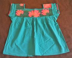 Maya Blouse Mexico Chiapas (Teyacapan) Tags: flowers maya embroidery mexican textiles chiapas ropa blusa ocosingo sibaca