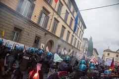 No Renzi Protest (Lorenzo Apr) Tags: renzi norenzi florence firenze italia italy news new riot clash