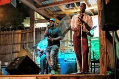 Cowboy Neal (pburka) Tags: band blues cowboyneal memphis tn tennessee bealestreet live outdoor performing music saxophone musician
