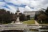 Campo del Moro, Madrid, fuente de las conchas (ipomar47) Tags: fuente conchas fuentedelasconchas venturarodriguez palacio real madrid españa spain fountain palace campo moro campodelmoro pentax k20d nube cloud jardin garden