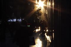 ATARDECER EN EL CENTRO (crisoalmoniga) Tags: buenosaires horapico argentina metro subte atardecer sol women contraste