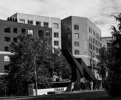 Hyatt Hotel, Seattle DSC04143-Edit (nianci pan) Tags: seattle spaceneedle seattlecenter tower sky cloud skyscraper building architecture abstract modern contemporary pattern geometric geometry curve line bnw nianci pan sony sonyalphadslr sonyphotographing washington