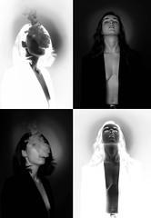 -Jeu de dames- (manon.ternes) Tags: paris photos photography photographie personne parisienne portrait project personnes potique tudiante student fille femme woman sexy blackandwhite monochrome noiretblanc blanc white noir black dark ngatif friends school montage studio light