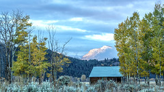 Mormon Row Cabin - Grand Teton National Park (Jim Frazee) Tags: mormonrowcabin grandtetonnationalpark