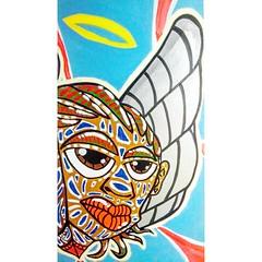 Detalhe da pintura que acabou de sair do forno... Breve boas novas!!! #DPRAZ #dpraznopara #danyahupraz #dancoliveira #danielpraz #desenho #pintura #cores #ilustrao #artesvisuais  #instaarte #draw #drawing #design #painting #colors #ilustration #visuala (Dan C. Oliveira (DPRAZ)) Tags: instailustration ilustrao eyesart canvas artesvisuais ilustration dpraz artes art danielpraz somaousomecrew instacolors instaarte freeart dancoliveira arte desenho painting visualarts instaart drawing colors cores pintura danyahupraz design draw dpraznopara