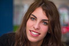 Mnica (Juan Ig. Llana) Tags: bilbo euskadi bilbao mnica retrato joven mujer ojos azules sonrisa