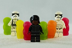 IMG_7953 (LezFoto) Tags: lego minifigs minifigures canon eos 700d ef100mm f28l candy sweet sweets jellybabies stormtrooper firstorder technician starwars
