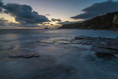 Same Old, Same Old (russellcram) Tags: nikon d750 sunrise old hartley oldhartley clouds long exposure longexposure rocks water waves sea