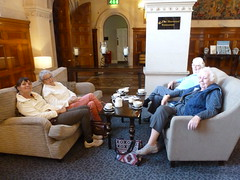Why are they grinning? (Ivan) Tags: thoresby hall warner hotel coffee tea holiday