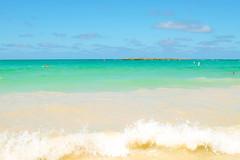 Kailua Beach (when I'm on vacation) Tags: kailua beach honolulu hawaii oahu island usa sand ocean sea