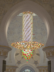 (isac babel) Tags: moschea lampadario sheikhzayedmosque