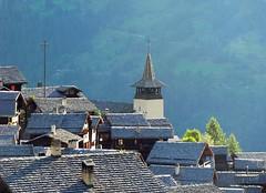 Grimentz (giorgiorodano46) Tags: agosto2008 august 2008 giorgiorodano grimentz tetti toits anniviers valais vallese wallis alps switzerland suisse schweiz roofs belltower alpes alpen alpi village vieuvillage myswitzerland