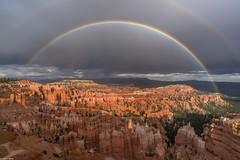 *Rainbow over Bryce Canyon* (albert.wirtz) Tags: brycecanyon utah usa albertwirtz unitedstates vereinigtestaaten regenbogen rainbow thunderstorm gewitter escalantemountains clouds wolken erosion canyon bryce rain regen brycecanyonnationalpark nationalpark sunsetpoint nikon d810