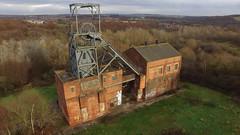 Barnsley Main Colliery (Sam Tait) Tags: phantom dji drone abandoned derelict mine pit colliery main barnsley