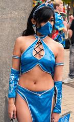 London MCM Expo Oct 2016: Mortal Kombat - Kitana (pricer45) Tags: mcmcomiccon london d5000 nikon cosplay mortalkombat kitana