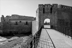 PA095688 Italy Sicily Ortigia Sircusa Castle (Dave Curtis) Tags: 2013 em5 europe italy omd olympus ortigia sicily sircusa castle