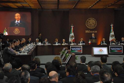 El gobernador Javier Duarte de Ochoa asistió a la XXX Sesión del Consejo Nacional de Seguridad Pública 10