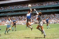 #Diego Maradona scores the infamous Hand of God goal, 1986 [960 × 635] #history #retro #vintage #dh #HistoryPorn http://ift.tt/2gimdW3 (Histolines) Tags: histolines history timeline retro vinatage diego maradona scores infamous hand god goal 1986 960 × 635 vintage dh historyporn httpifttt2gimdw3