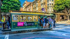 Get a Grip : ) (Gordon McCallum) Tags: sanfrancisco cablecar streetscene sunnyday sony sonya6000 sonylens