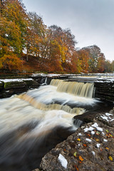 Lower Aysgarth (matrobinsonphoto) Tags: aysgarth falls lower north yorkshire dales national park river ure waterfall water waterfalls landscape countryside autumn winter leaves snow orange autumnal trees woodland tree long exposure cold frozen outdoors nature natural scenery beautiful rural flow