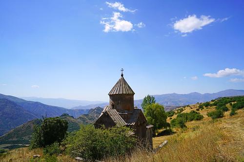 Tsakhats Kar monastery, Vayots Dzor, Armenia