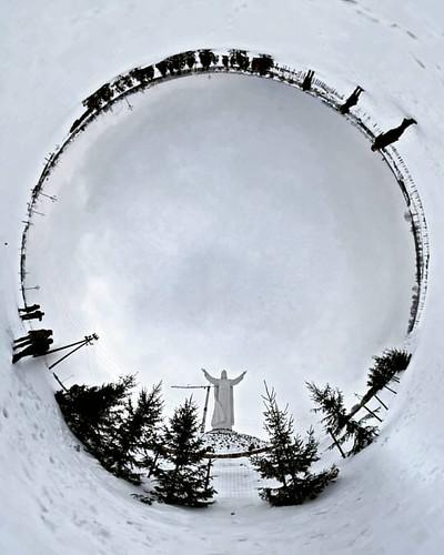 #pomnik #panorama #swiebodzin #świebodzin #travel #360panorama #panorama360 #THETAgrapher #szysz #photodays #travelphoto #travelphotography  #instagramphotos #photoinstagramoftheday #chrystus