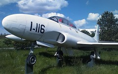 "Lockheed T-33A 1 • <a style=""font-size:0.8em;"" href=""http://www.flickr.com/photos/81723459@N04/31018589880/"" target=""_blank"">View on Flickr</a>"