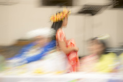 Passing angel (Ian@NZFlickr) Tags: movement motion blur pacific island feast angel dunedin nz