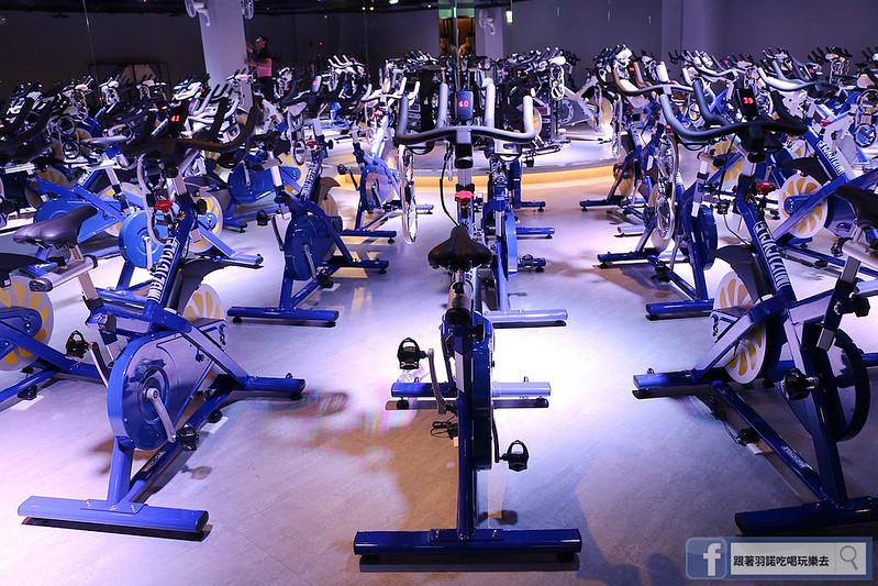 台北松山南京復興站健身房  MUZICYCLE 飛輪拳擊課程053