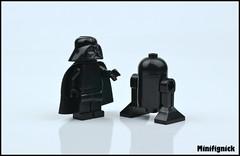 Alternative Things To Do On Black Friday (MinifigNick) Tags: blackfriday starwars lego black minifig minifigure