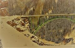 Detour (Douglas H Wood) Tags: colorado snow detour canyon mountains bridge landscape winter