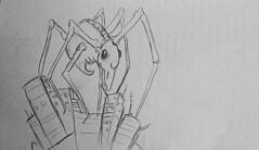 Se Sentir comme un microbe (ETt_) Tags: microbe monster cartoon sketch drawing