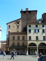 Piazza Andrea Mantegna - Mantua - someone needs to do some DIY! (Kevin J. Norman) Tags: mantua lombardy