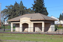 Northwestern Pacific Railroad Depot, Healdsburg (New York Big Apple Images) Tags: healdsburg sonoma railroad station depot northwestern pacific
