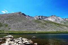 Rocky Shore (Patricia Henschen) Tags: summitlake denvermountainparks park lake mountains alpine mtevansscenicbyway mtevans scenicbyway idahosprings colorado