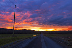 My Highway (Matt Champlin) Tags: highway end ending sunset november december life rural country beautiful colorful dark hope light canon 2016 peace peaceful stormy moody idyllic nature countryroad home cny upstatenewyork
