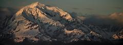 Alaskan sunset (Steve Masiello) Tags: nikon nikkor d7000 70210456d stevemasiello stephenmasiello alaska mountain sky sunset snow light cloud landscape scenery wilderness outdoor wild rugged peak rock ice royalcaribbean radianceoftheseas