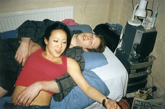 Watch that hand (Gary Kinsman) Tags: 2002 london film students youth drunk fun mess university hammered young passedout hampstead afterparty fuckedup hallsofresidence nw3 kingscollegelondon mullered kcl childshill studentcampus kidderporeavenue hampsteadstudentcampus