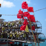 "Flags on Fishing Boat <a style=""margin-left:10px; font-size:0.8em;"" href=""http://www.flickr.com/photos/14315427@N00/7052964257/"" target=""_blank"">@flickr</a>"