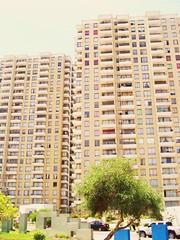 TEJIDO (APOLO*NORTE*AFRICA) Tags: plaza parque avenida arquitectura torre edificio balcon departamento altura parquenicolastirado