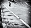 Between the lines (. Jianwei .) Tags: road street urban lines silhouette vancouver composition mood cross walk candid curves atmosphere coquitlam grains 365 between jaywalking 马路 剪影 a500 jianwei davidave kemily