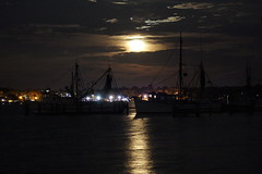 Boggy Bayou Super Moon (arobbgirl) Tags: sky moon water clouds boats cool florida bayou moonrise dreamy niceville maymoon milkmoon plantingmoon boggybayou supermoon maymoonsupermoonmilkmoonplantingmoonsupermoonsky cloudsmoonboatswaterdreamycoolboggybayoumoonrisefloridabayouniceville
