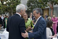 Peter Ramsauer, Susanne Ramsauer and José Viegas