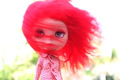 So the rain has stopped and the wind has taken its place (Samantha (Sam)) Tags: doll wind db blythe custom breeze ebl discoboogie obviouszebra