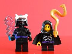 Father & Son (Tony DZ) Tags: toy actionfigure noir geek lego fig action lord figure lloyd minifig figurine jouet minifigure noire minifigures ninjago spinjitzu garmadon