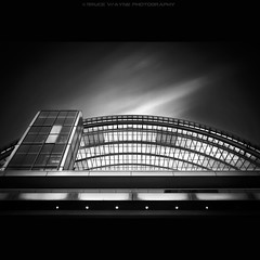 Crescent... (darth_bayne) Tags: longexposure philadelphia centercity kimmelcenter longexposurephotography canon7d darthbayne brucewaynephotography longexposurekimmelcenter nd400xfilter