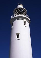 Hurst Castle | Lighthouse (fraser donachie) Tags: contaxg2 velvia50 public velvia analogue film 35mm