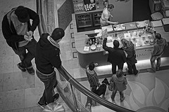Shopping mall (Joerg Hoyer) Tags: people mall watching