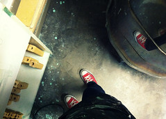 002 january 02, 2013 (mrbosslady) Tags: floor converse kiln whereistand